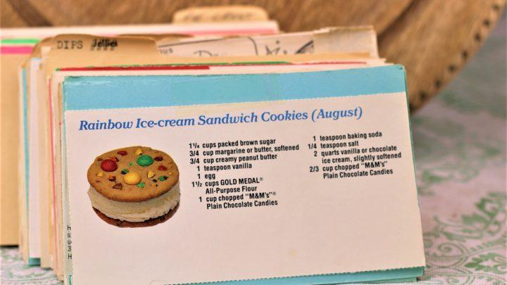 Rainbow Ice Cream Sandwiches