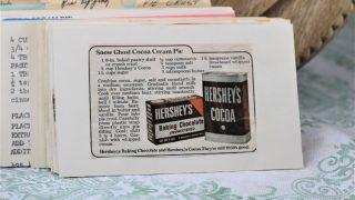 Snow Ghost Cocoa Cream Pie