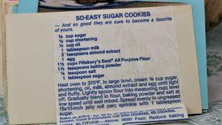 So Easy Sugar Cookies