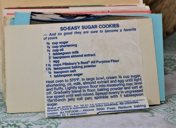 So Easy Sugar Cookies