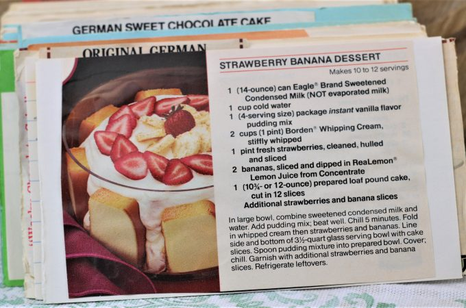 Strawberry Banana Dessert Recipe