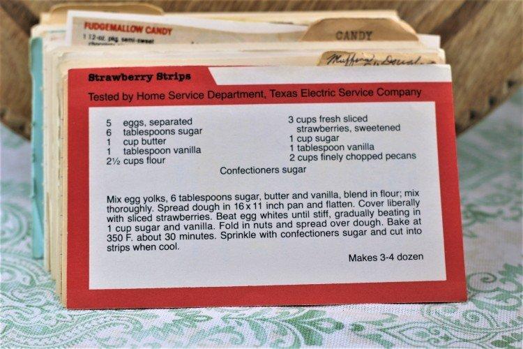Strawberry Strips