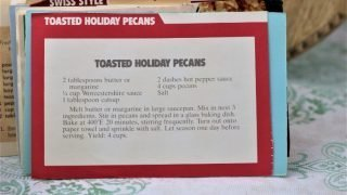 Toasted Holiday Pecans