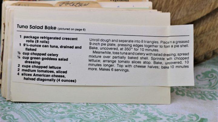 Tuna Salad Bake