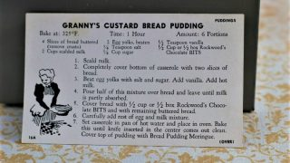 Granny's Custard Bread Pudding