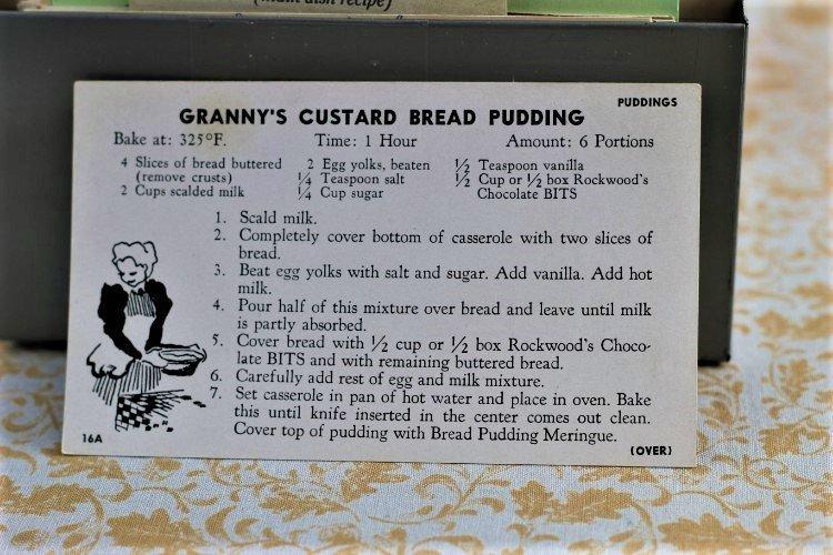 Granny's Custard Bread Pudding