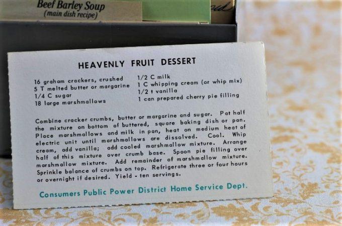 Heavenly Fruit Dessert
