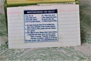 Mediterranean Cod Skillet