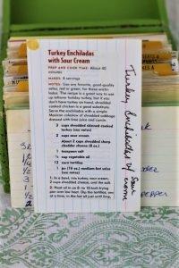 Turkey Enchiladas With Sour Cream