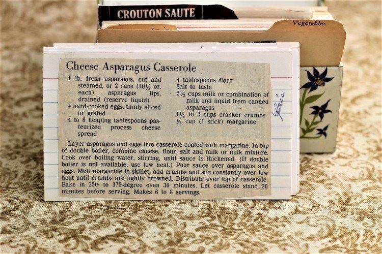 Cheese Asparagus Casserole