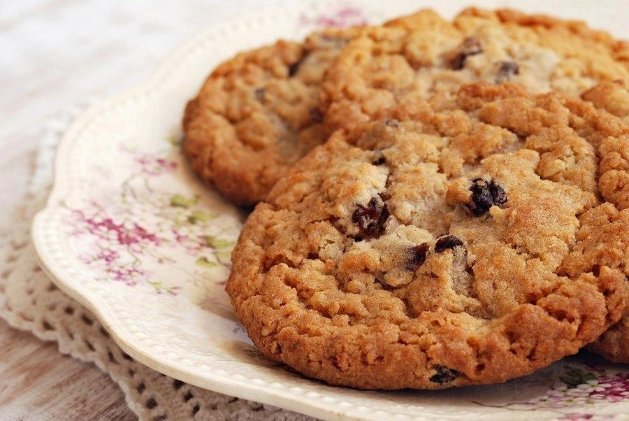 bigstock Freshly baked oatmeal raisin c 73733557