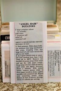 Angel Hair Potatoes