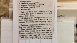Creamed Fresh Corn