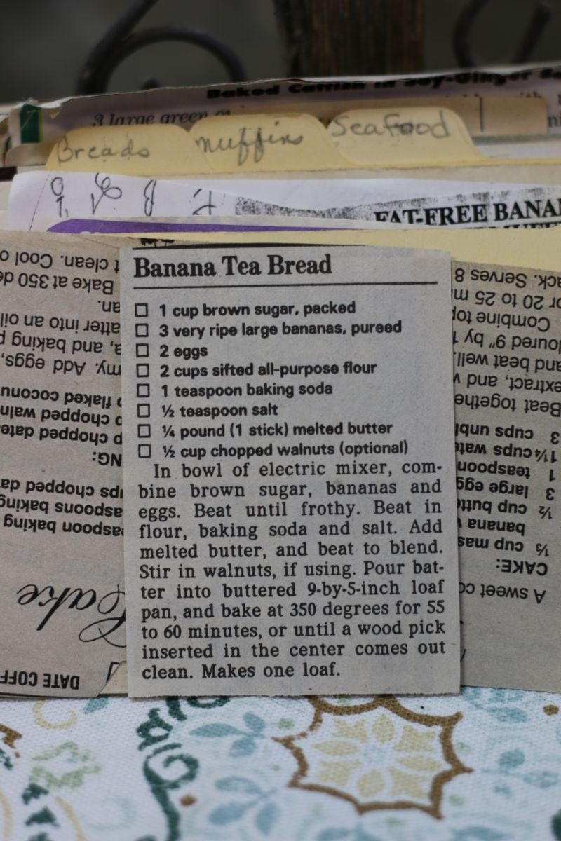 Banana Tea Bread