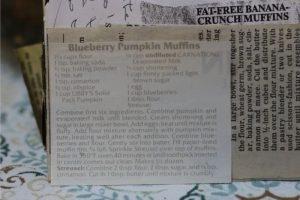 Blueberry Pumpkins Muffins