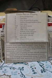 Chicken Stew and Dumpling