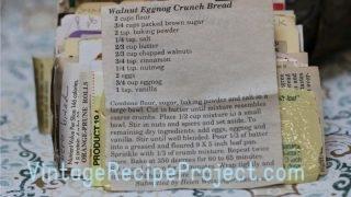 Walnut Eggnog Crunch Bread