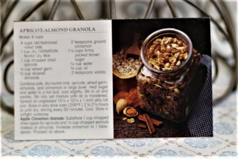 Apricot-Almond Granola