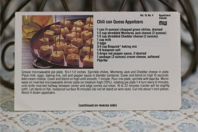 Chili Con Queso Appetizers