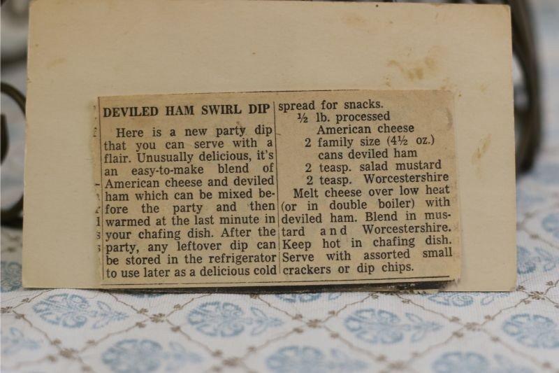 Deviled Ham Swirl Dip