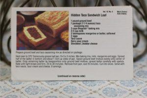 Hidden Taco Sandwich Loaf