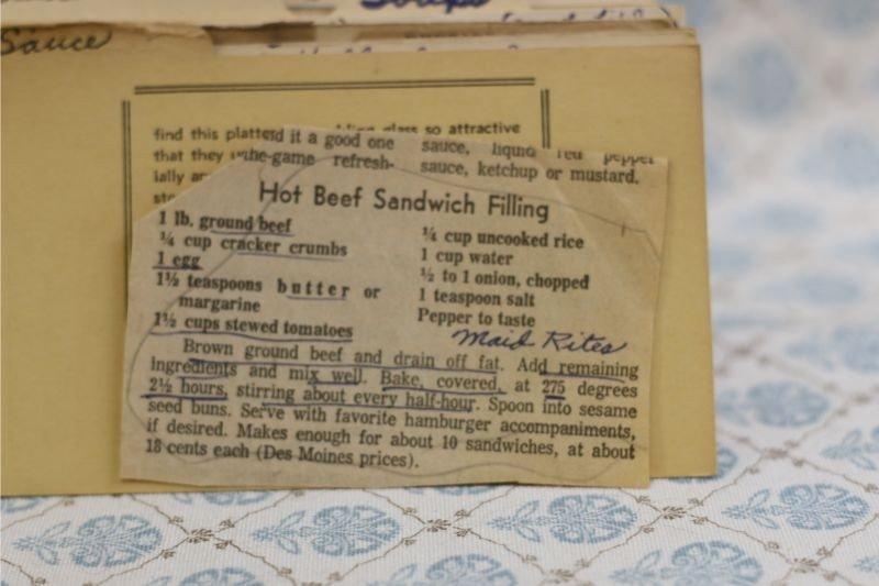 Hot Beef Sandwich Filling