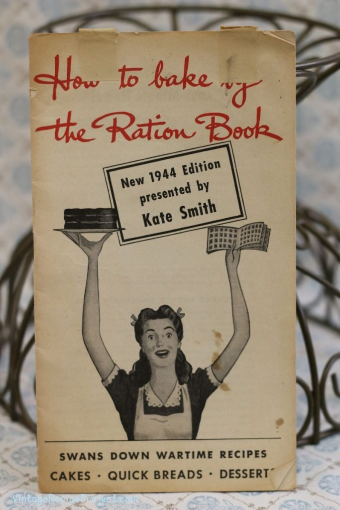 How to Bake by the Ration Book by Kate Smith