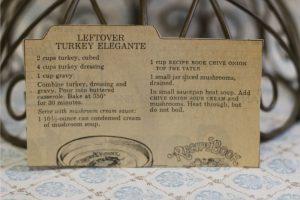 Leftover Turkey Elegante