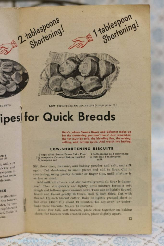 Low-Shortening Biscuits