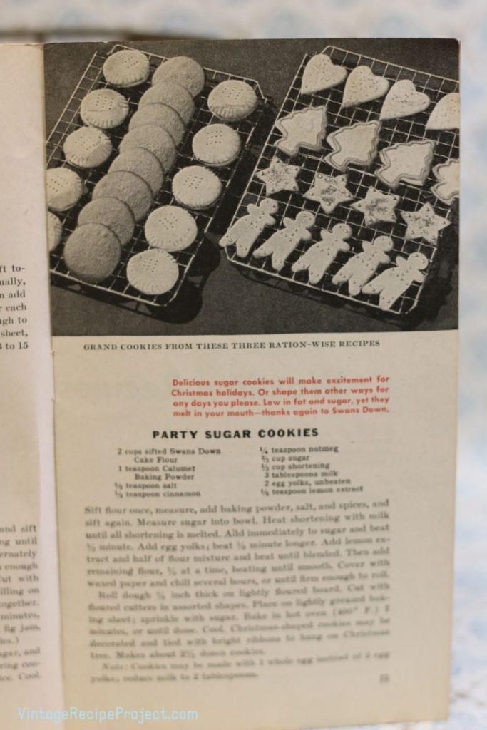 Party Sugar Cookies