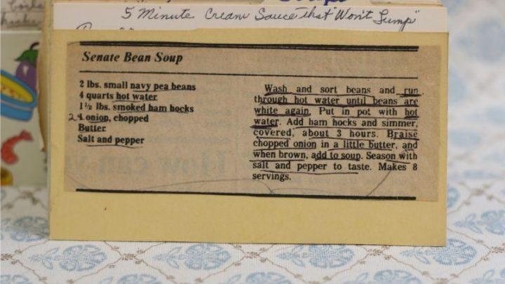 Senate Bean Soup (VRP 40)