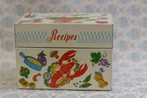 Vintage Recipe Box 40 1