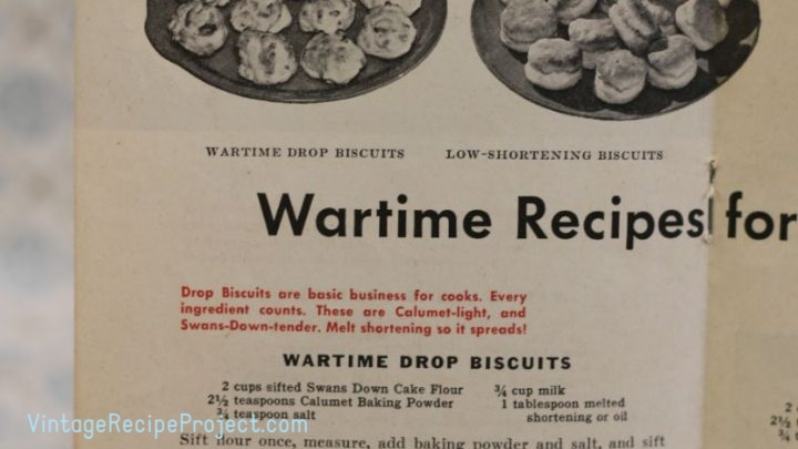 Wartime Drop Biscuits scaled