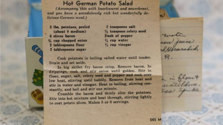 Hot German Potato Salad (VRP 040)