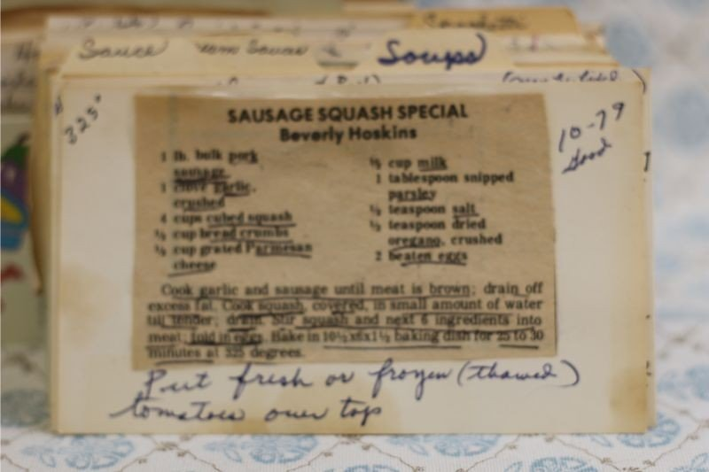 Sausage Squash Special
