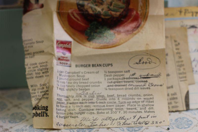burger bean cups