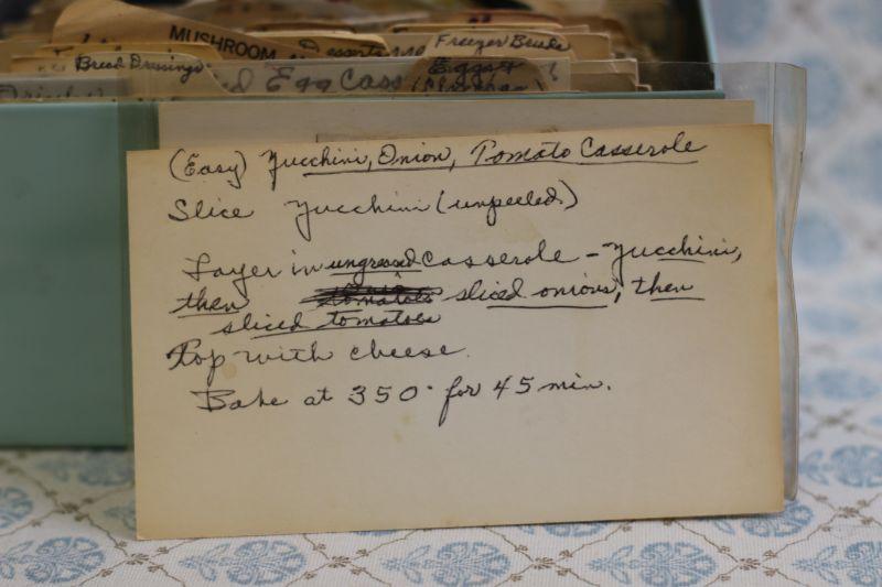 zucchini onion and tomato casserole