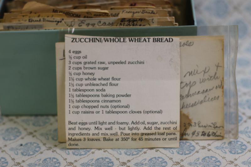 zucchini whole wheat bread
