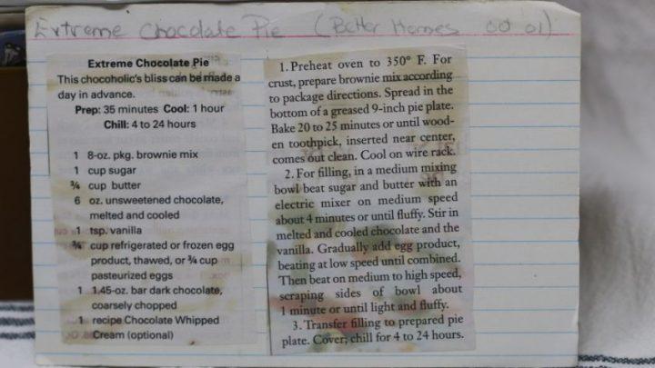 Extreme Chocolate Pie