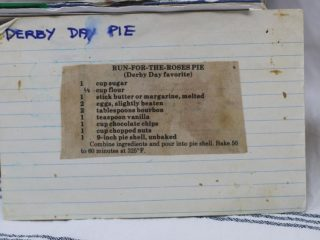 Run for the Roses Pie