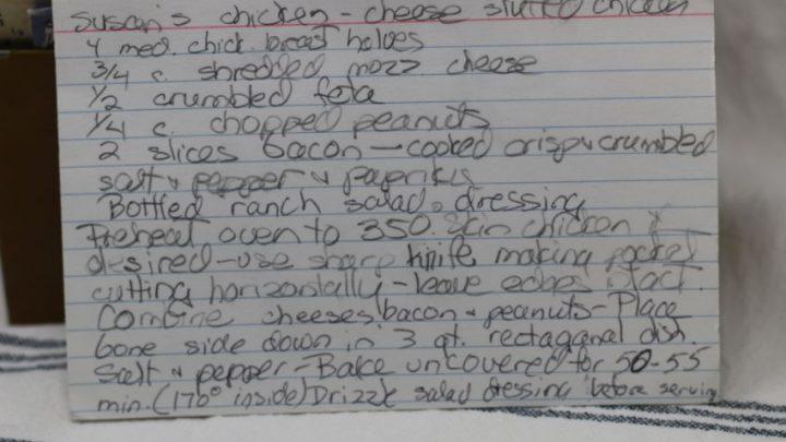 Cheese Stuffed Chicken
